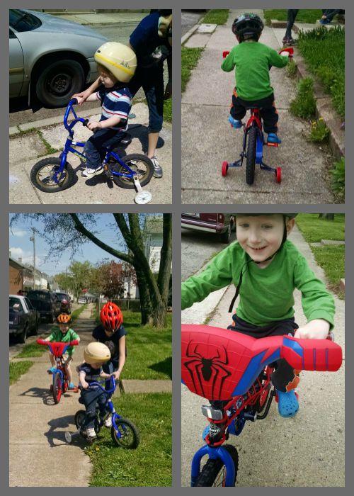 homeschool bikes