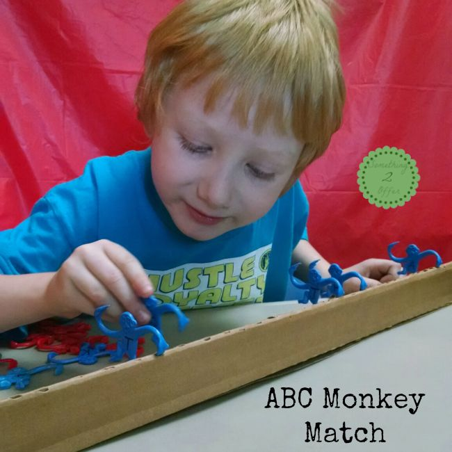 ABC Monkey Match