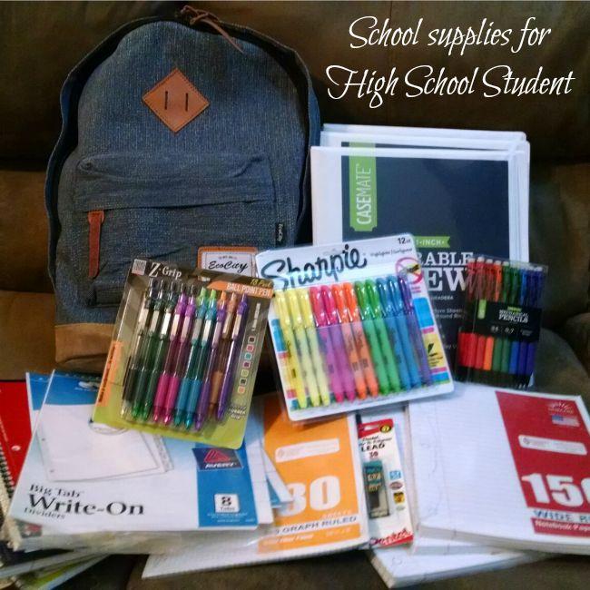 back to school #givingbackpacks high school