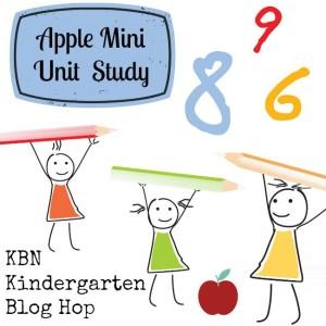 KBN Kindergarten Apple Mini Unit Study