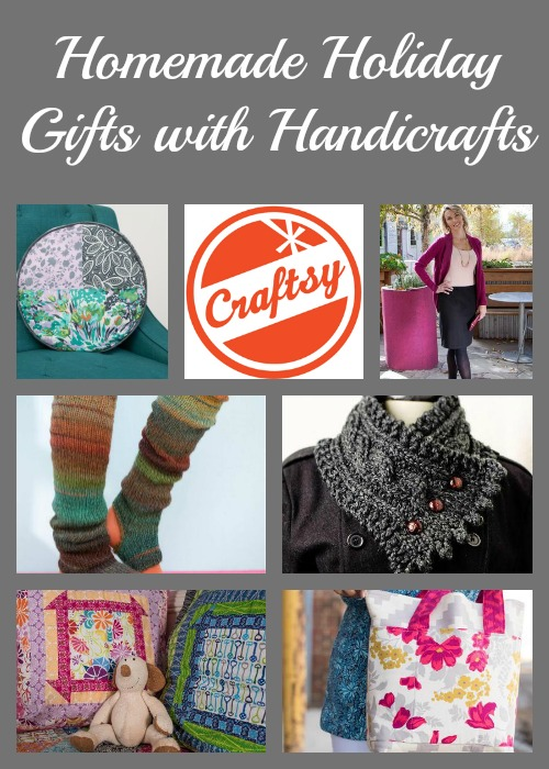 Homemade Holiday Gifts with Handicrafts