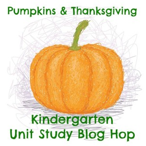 pumpkins and thanksgiving kindergarten hop