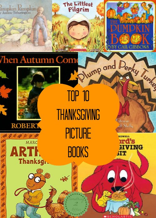 top 10 Thanksgiving picture books