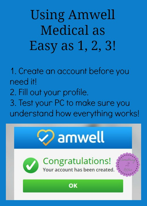Amwell as easy as 1,2,3