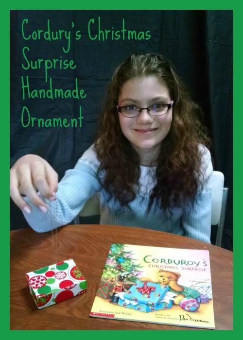 Corduroys Christmas Surprise Present Ornament