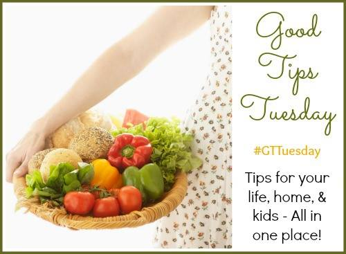 Easy Healthy Meals from Good Tips Tuesday