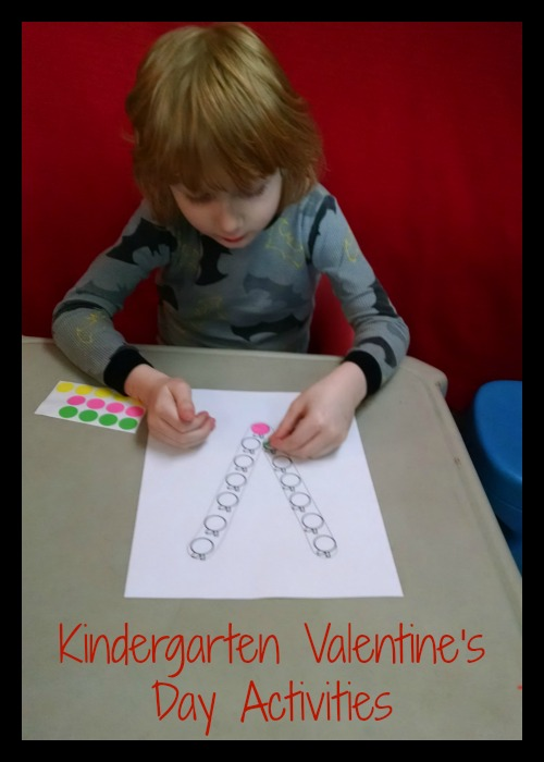 Kindergarten Valentine's Day Activities