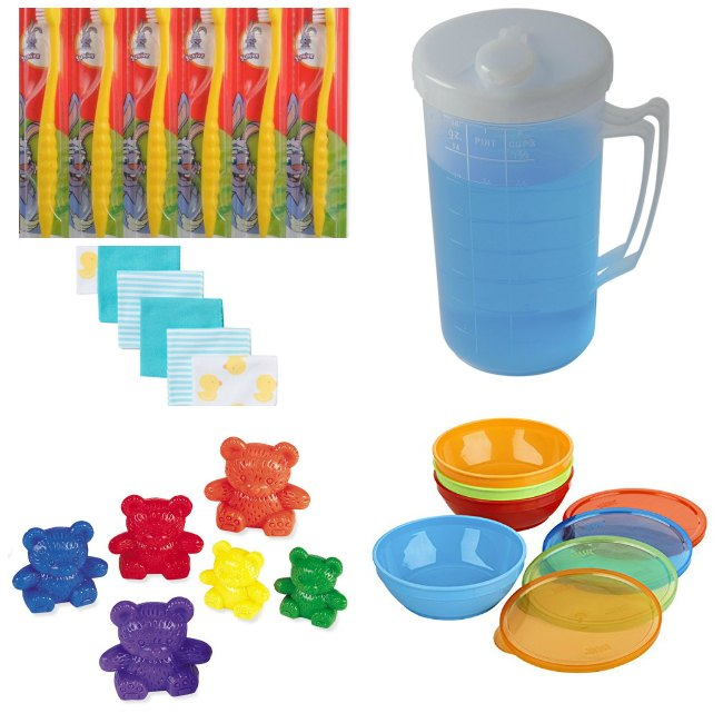 Rainbow Bears washing station tools