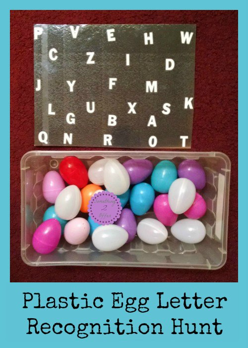 Plastic Egg Letter Recognition