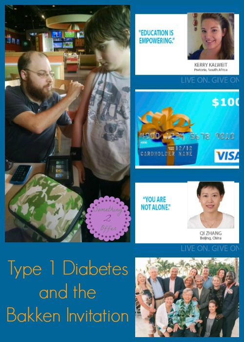 Type 1 Diabetes and Bakken Invitation Honorees