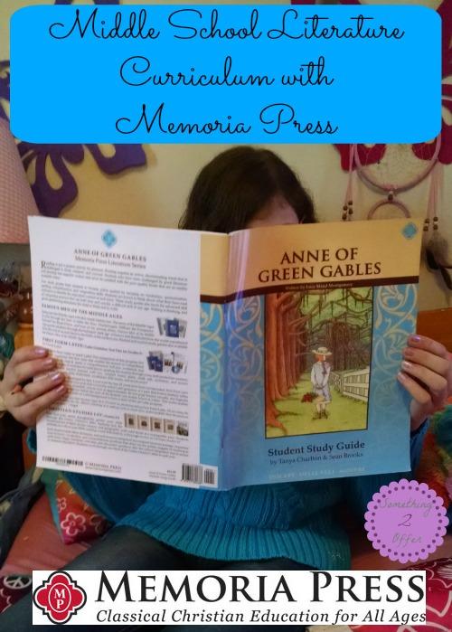 Middle School Literature Curriculum with Memoria Press
