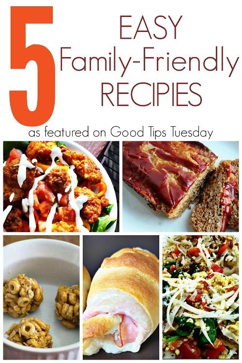 Easy Family Friendly Recipes
