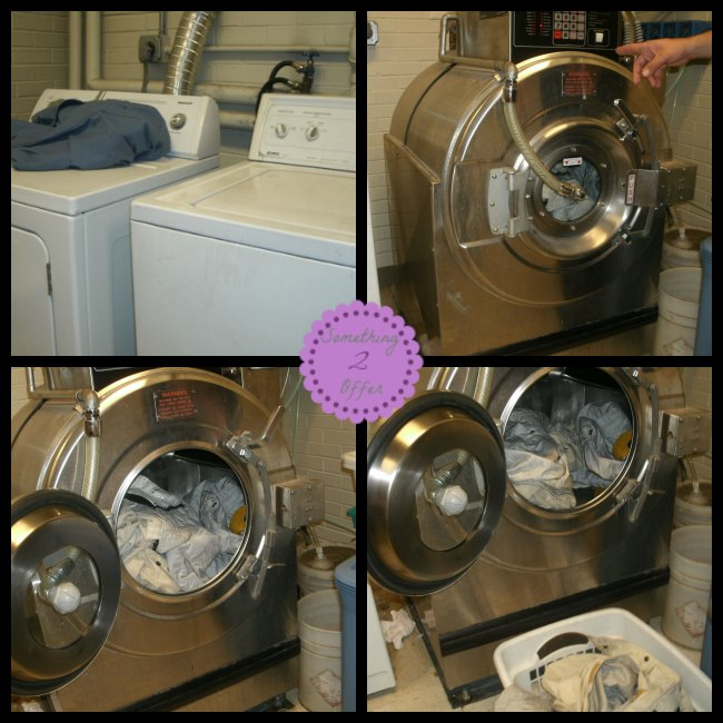 Fire Station Laundry Room