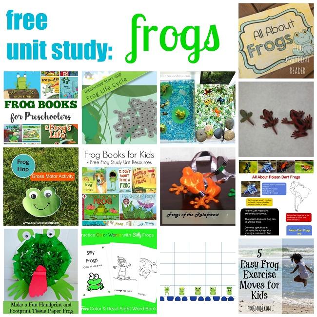 Frog-Unit-Study