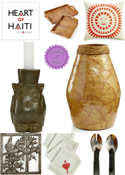 Heart of Haiti products