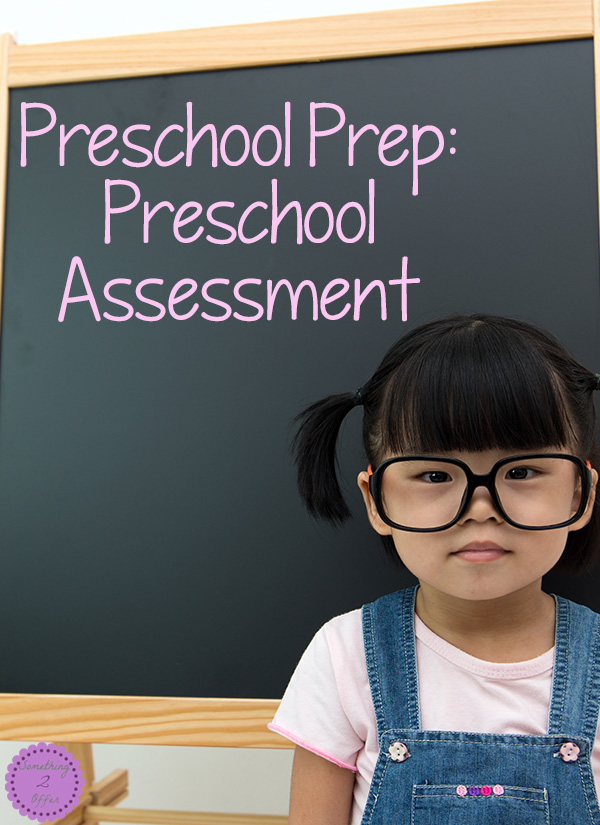 Preschool Prep: Preschool Assessment