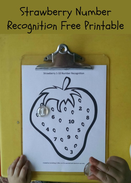 Strawberry Number Recognition