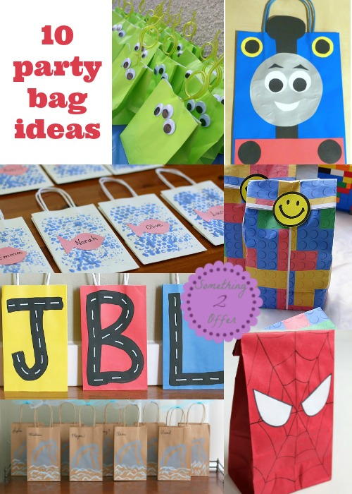 Top 10 Birthday Party Goody Bag Ideas