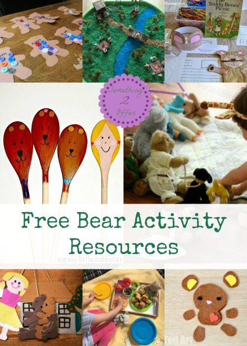Free Bear Activity Resources