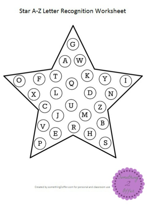 Star A-Z Letter Recognition
