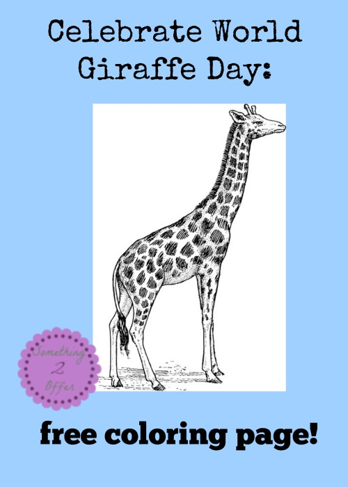 real giraffe coloring pages - photo#16