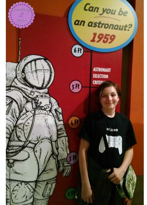 Astronaut height