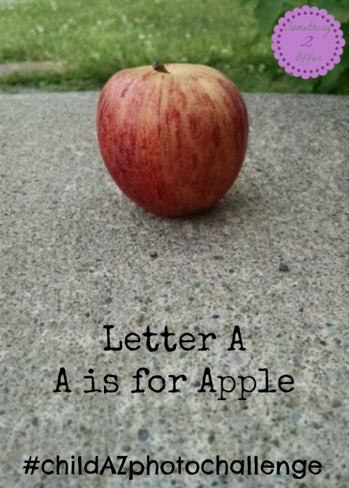 Letter A is for Apple