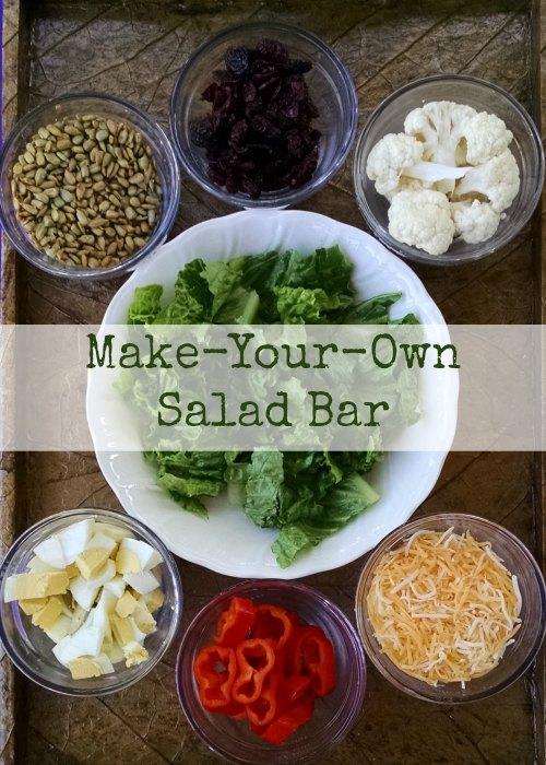 Make-Your-Own Salad Bar