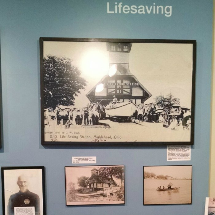 Marblehead Lighthouse Museum Lifesaving