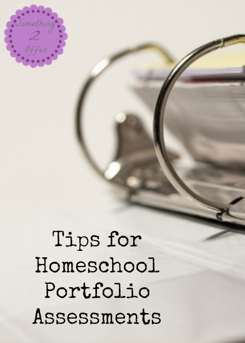 Tips for Homeschool Portfolio Assessments