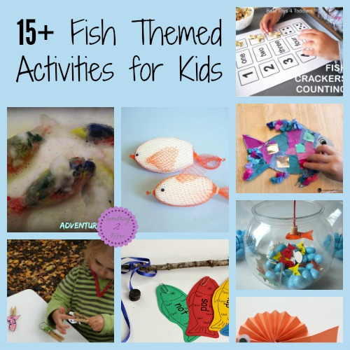 Fish Themed Activities for Kids