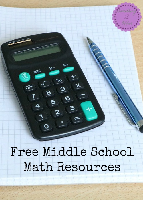 Free Middle School Math Resources
