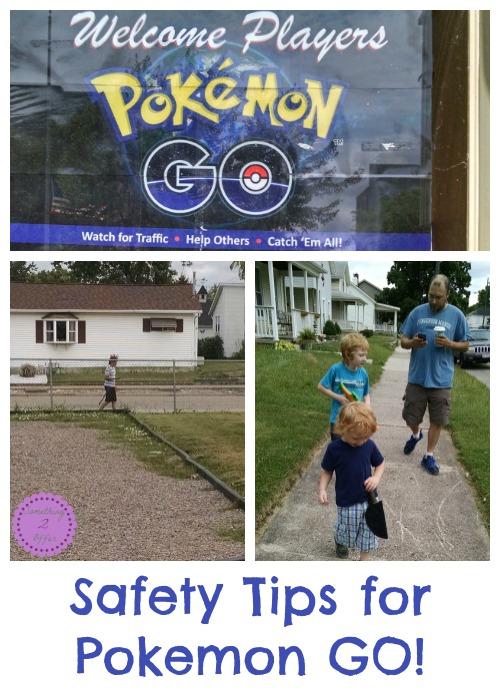 Safety Tips for Pokemon GO!