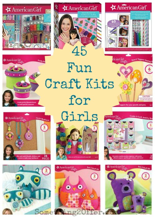 45 fun craft kits for girls from american girl for Fun crafts for girls
