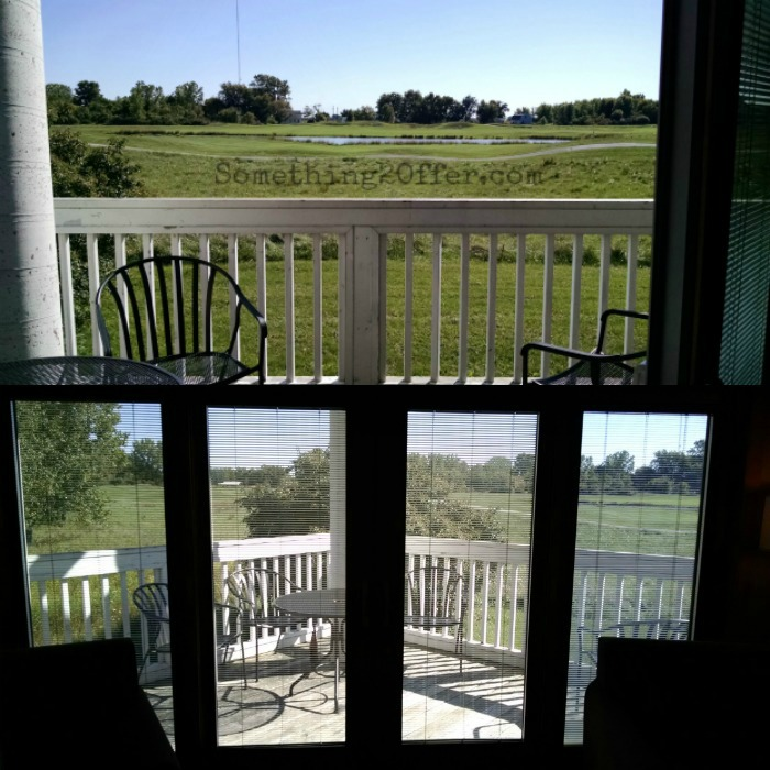 Maumee Bay Cottage deck
