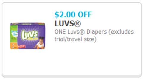 Luvs Print at Home coupon