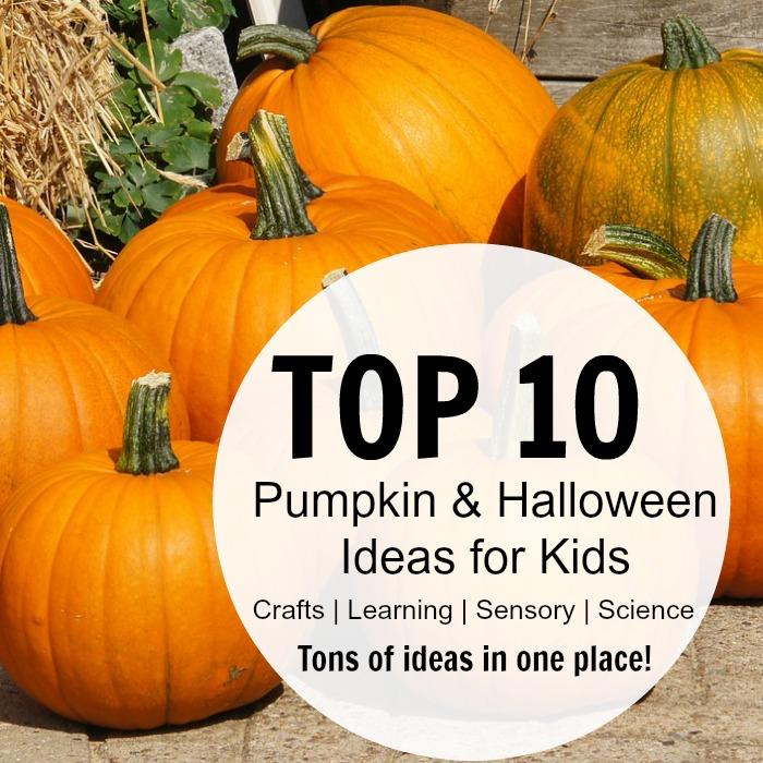 top 10 pumpkin and Halloween Ideas for Kids