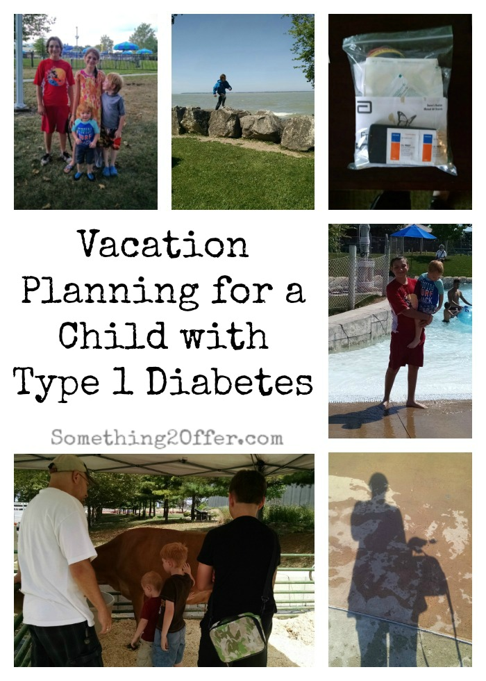 Vacation Planning for a child with Type 1 Diabetes