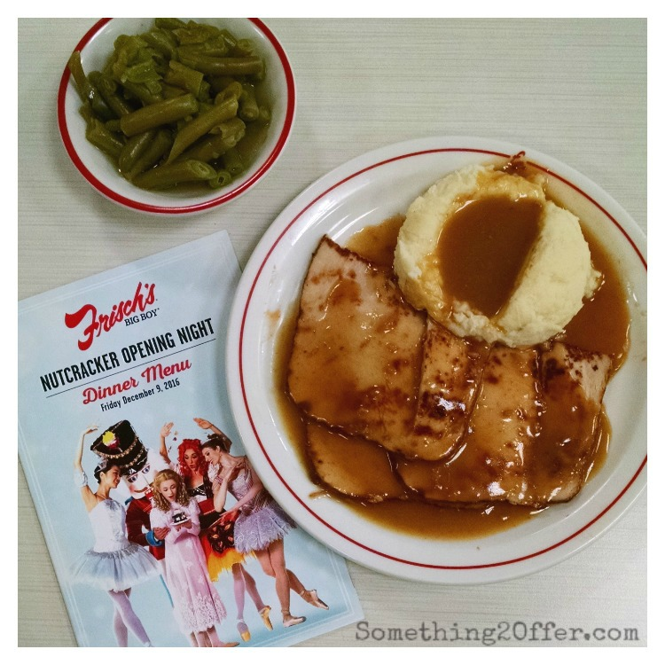 Frisch's Turkey Potatoes Green Beans