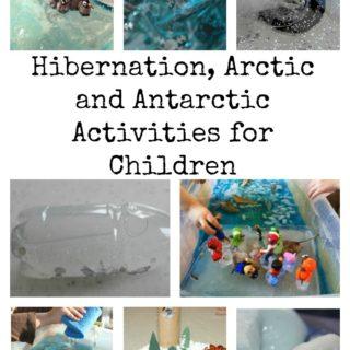 Hibernation, Arctic and Antarctic Activities for Children