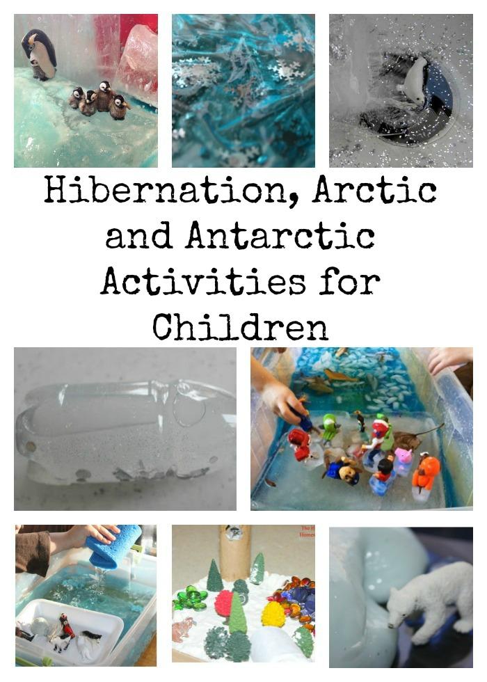 Hibernation arctic and antarctic activities for children for Hibernation crafts for kids