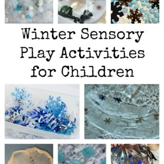 Winter Sensory Play Activities for Children