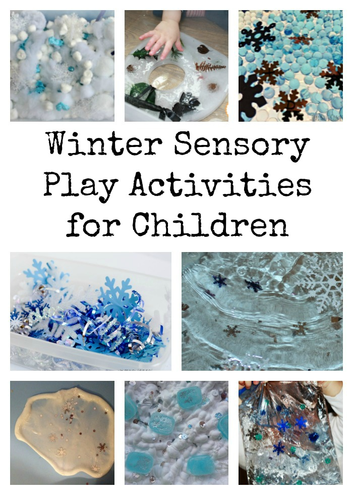 Winter Sensory Play Activities for Children
