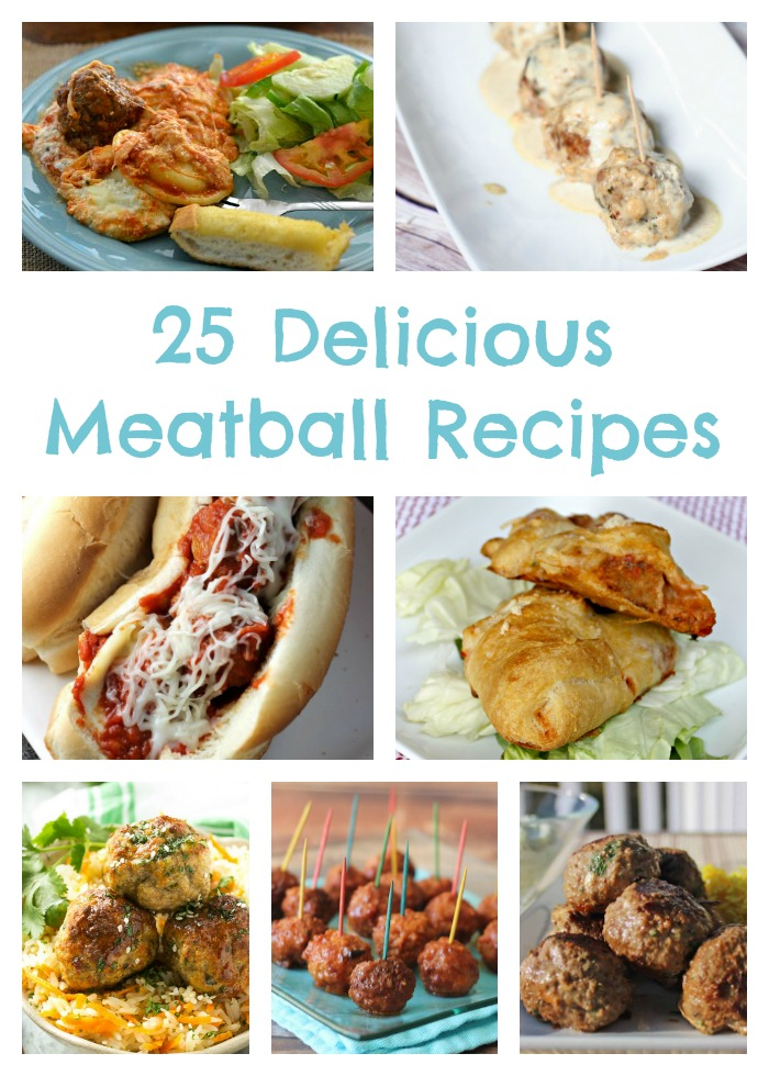 25 Delicious Meatball Recipes
