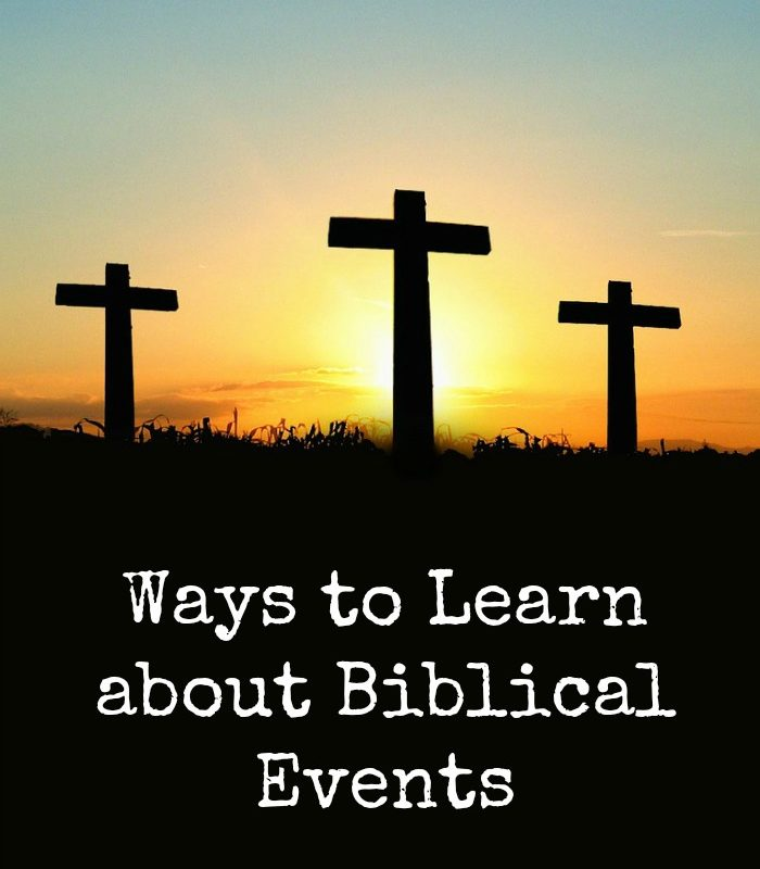 Ways to Learn about Biblical Events #TheGospelOfMark #Ad #RWM