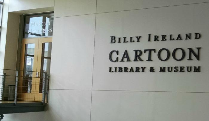 Billy Ireland Cartoon Library & Museum door