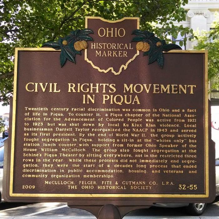 Civil Rights Movement in Piqua