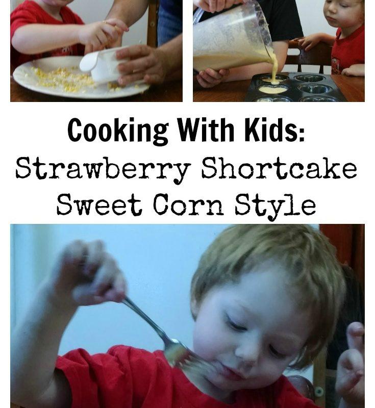 Strawberry Shortcake Sweet Corn Style (ad) #SunshineSweetCorn #IC