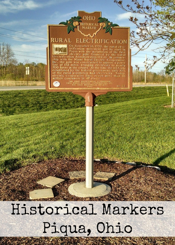 Historical Markers Piqua, Ohio