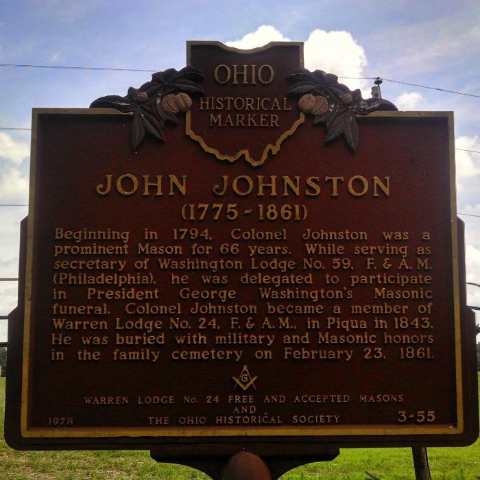 John Johnston Historical Marker